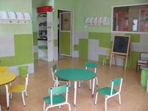 Una de la aulas donde nuestro personal docente desarrolla su trabajo.